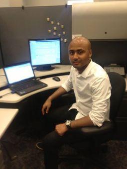 Rajesh Vadlamudi, Former Inside Sales Intern