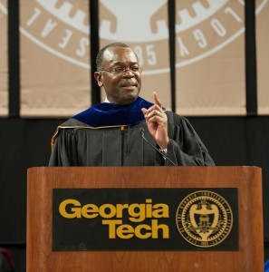 Rod Adkins, IBM Senior Vice President, Corporate Strategy,  during his commencent address to Georgia Tech in early December.