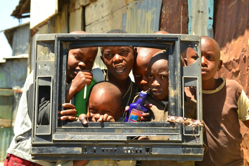 'Digital Migration' by Lawrence 'Shabu' Mwangi, Kenya