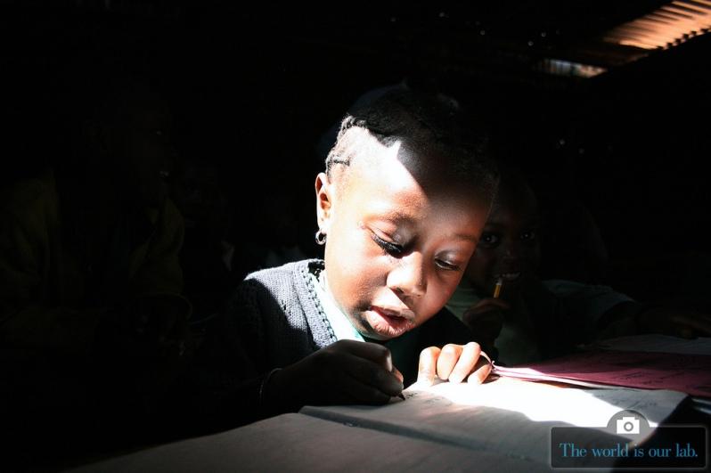 'Free Primary Education' - by Jack Owuor, Kenya