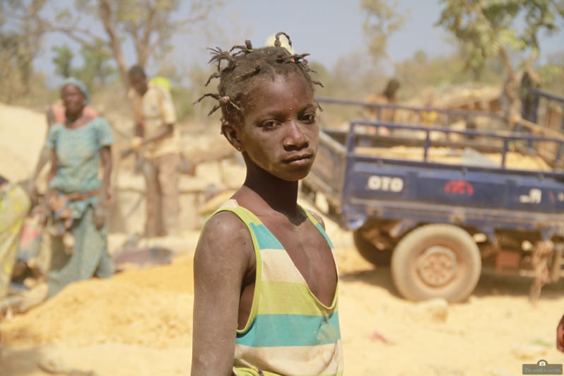 'Face of Hope' - by Moctar Menta, Mali.