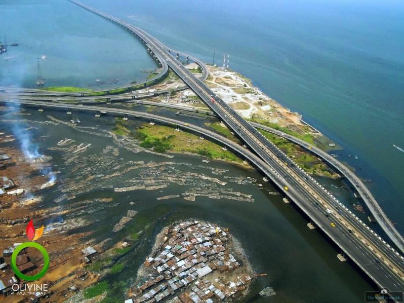 'Third Mainland Bridge' - by Samuel Ojudun, Nigeria.