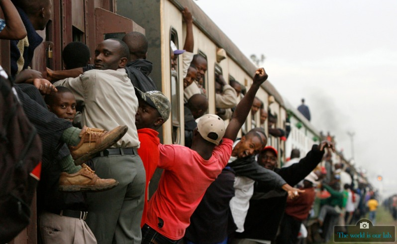'Commuter Train ' - by Thomas Mukoya, Kenya.