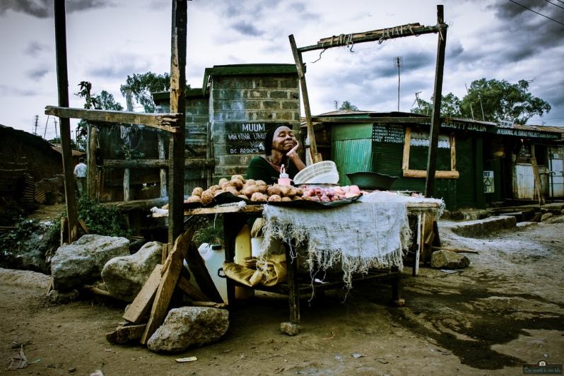 'Poverty Weighed in a Can' - by Wanjohi Ndungu, Kenya.