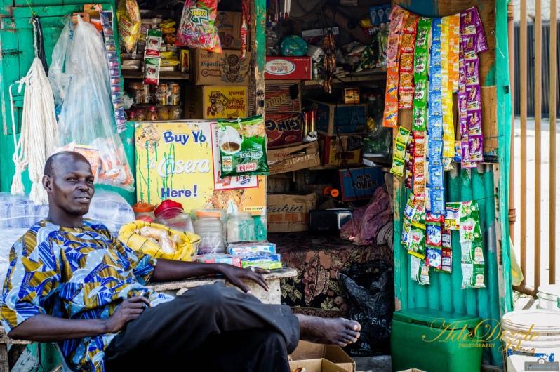 'Mallham Shop Lagos' - by Adedapo Adegboyega, UK.