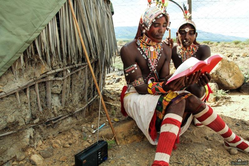 'Bible Study' - by Kevin Amunze, Kenya.