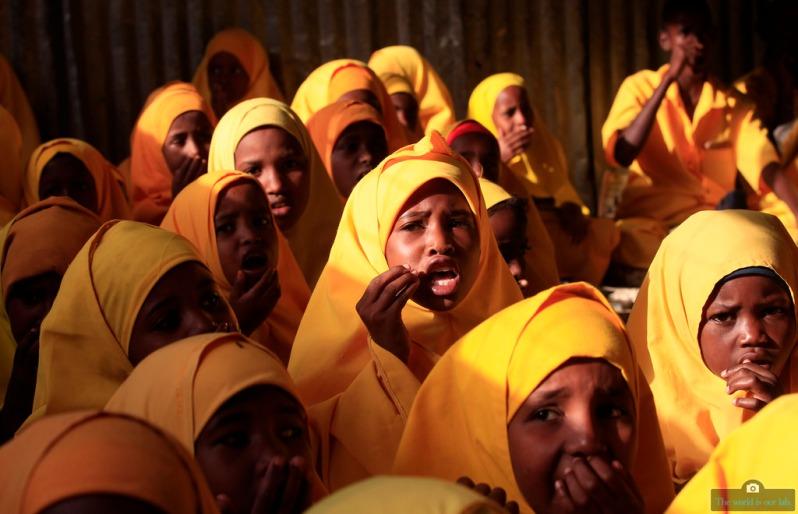 'Koranic class in Dadaab' - by Thomas Mukoya, Kenya