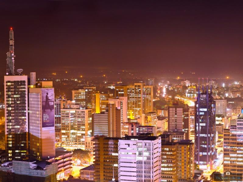 'City Lights' - by Mutua Matheka, Kenya.