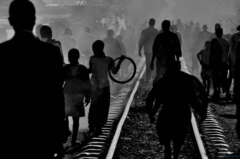 'Tracks' - by Julian Manjahi, Kenya.