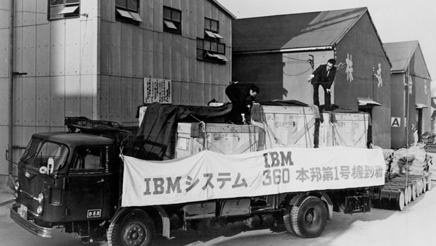 "Before a System/360 was delivered to Tokai Bank in Japan, ""all operations were performed manually, forcing employees to run calculations on abacuses into the late hours of the night."""