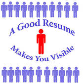 Good Resume Makes You Visable