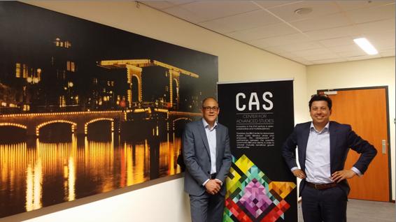 Cees van der Lee,  Innovation Program Manager and Pierre de Wit, Innovation Manager, CAS Benelux