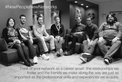Think of your network as a career asset