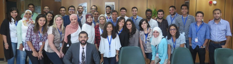 L2A Egypt Induction - L2A Interns(IMG_1173)