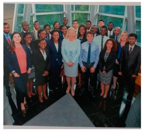 ginni-with-africa-interns