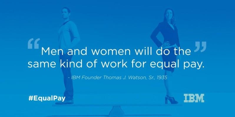 IBM Equality pledge
