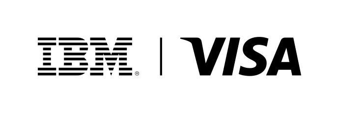 IBM and Visa....